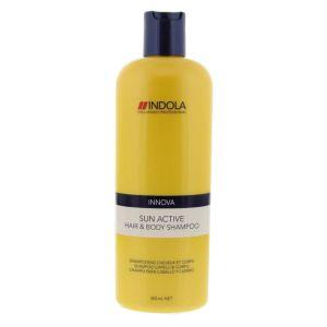 Indola - Innova Sun Active Hair & Body Shampoo 300 ml