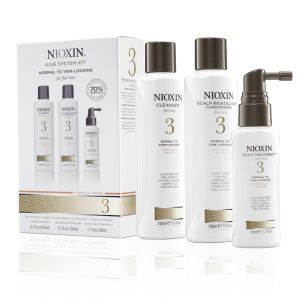 Nioxin System 3 Kit Cleanser, Conditioner, Treatment
