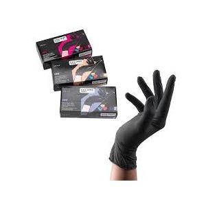 Sibel Wegwerp Latex Handschoenen Zwart M