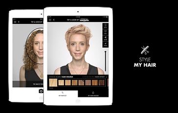 Nieuw van L'Oréal : De Style My Hair App!
